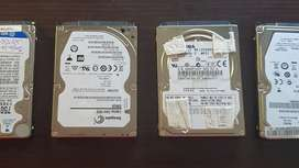 "Laptop Hard drives HDD 2.5"" - Various Capacities"