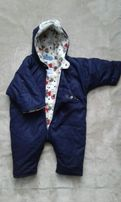 Комбинезон, куртка, конверт деми 0-3 месяцев