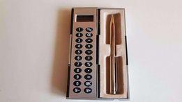 Długopis kieszonkowy z kalkulatorem,etui