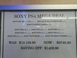 Sony PS4 MEGA DEAL!