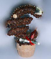 Изготовлю топиарии подарки Цветы из кофе Букеты