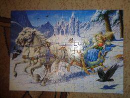 Puzzle stan bdb 108 elementów