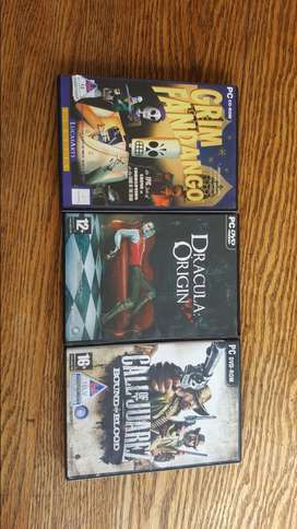 3 old games for PC
