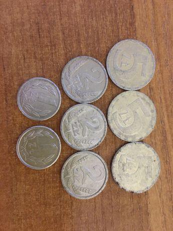 5 złoty 1989r 1990r 2 zł 1989r 1990r 1zl 1989r 1990r Bydgoszcz - image 1