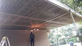 Reed ceiling