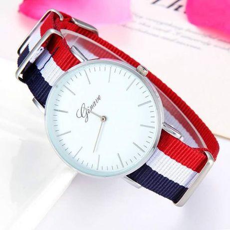 Nowe zegarki damskie męskie uniseks Dwa kolory na prezent mikołaj Hit Sierakowice - image 1