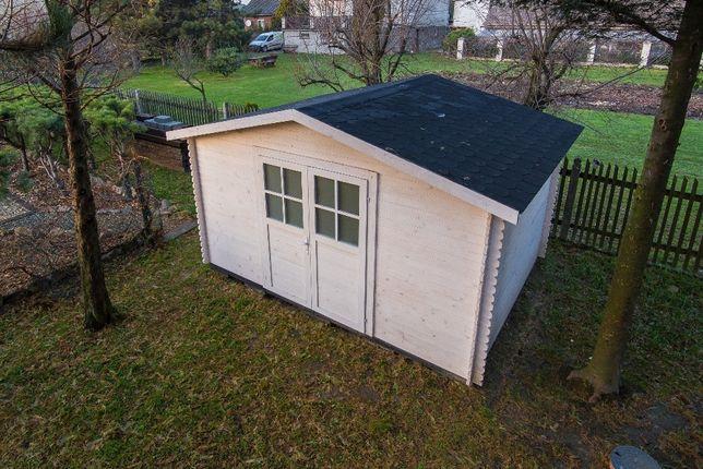 Domek drewniany ogrodowy 4x4m narzędziowy drewutnia altana domki Graboszyce - image 5