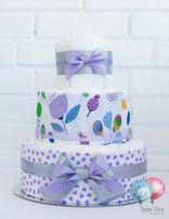 Торты из подгузников, с памперсами, памперсный торт. В наличии