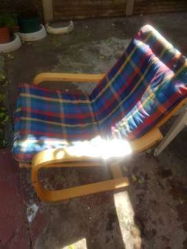 2 seater second hand lounge chair