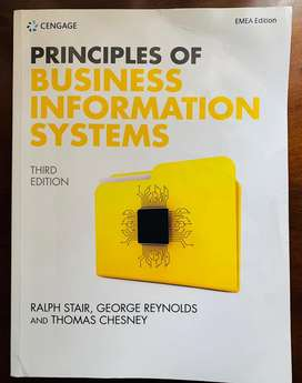 Principles of Business Information Systems Third Edition (Latest Edt.)