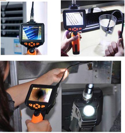 Видеоэндоскоп 1м 5,5 мм бороскоп цифровой эндоскоп видеоскоп NTS200 Южное - изображение 5