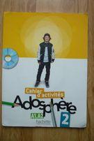 Adosphere 2 Cahier d'activites - ćwiczenia do francuskiego 2 gimnazjum