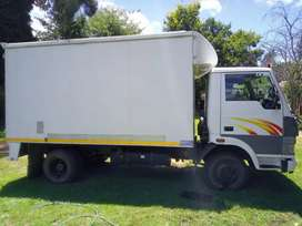 4 and 8 ton trucks for hire with driver