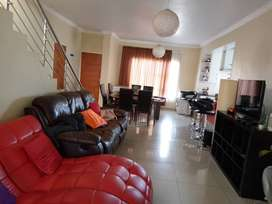 Double story secured house in estate renting R16,500
