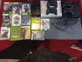 2 x box 360 with games