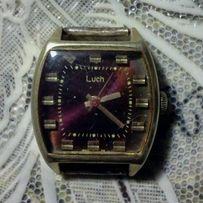 женские часы ЛУЧ,механика,позолота 10мк,из времен СССР