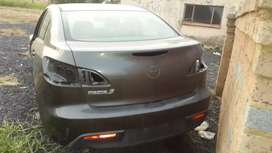 Mazda 3 body parts for sale... Engine and gear box still available