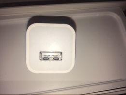 Оригинальный новый сетевой адаптер Apple. Зарядка, кубик