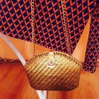 Сумочка ,сумка женская, золотой цвет .