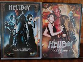 Hellboy and Hellboy and the Golden army