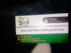Dust and shine cleaning services