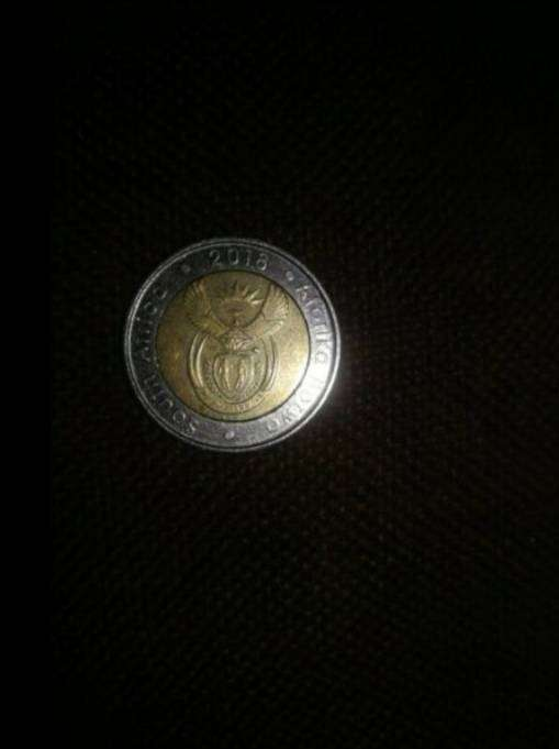 I have a Nelson Mandela R5 coin 2018 0