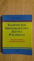 Słowniczek ortograficzny języka polskiego Marta Bartnicka