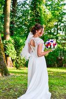 Свадебное платье А-силуэт 42-46 размер