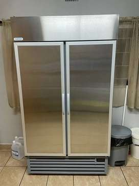Staycold Freezer Double Door Stainless Steel 925L