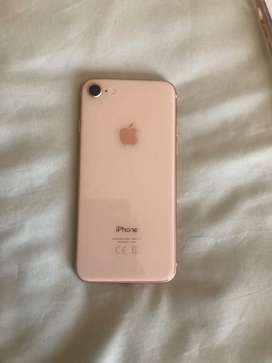 Iphone 8 in gold. Great condition. Comes with original box