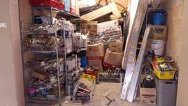 Garage sale of hardware and building products