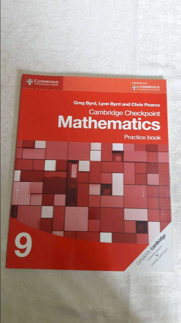 Cambridge Checkpoint Mathematics Practice book 9 by Byrd Greg 0