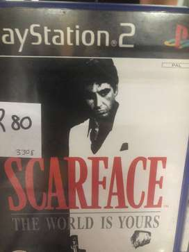 PS2 Scarface Game