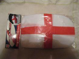автомобилисту на авто зеркало накладка чехол британский флаг 2шт набор