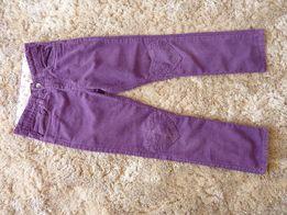 Spodnie sztruksowe H&M rozm 122