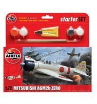 Samolot MITSUBISHI A6M2b ZERO + Farby