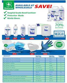 Sanitizers for Sale!!!