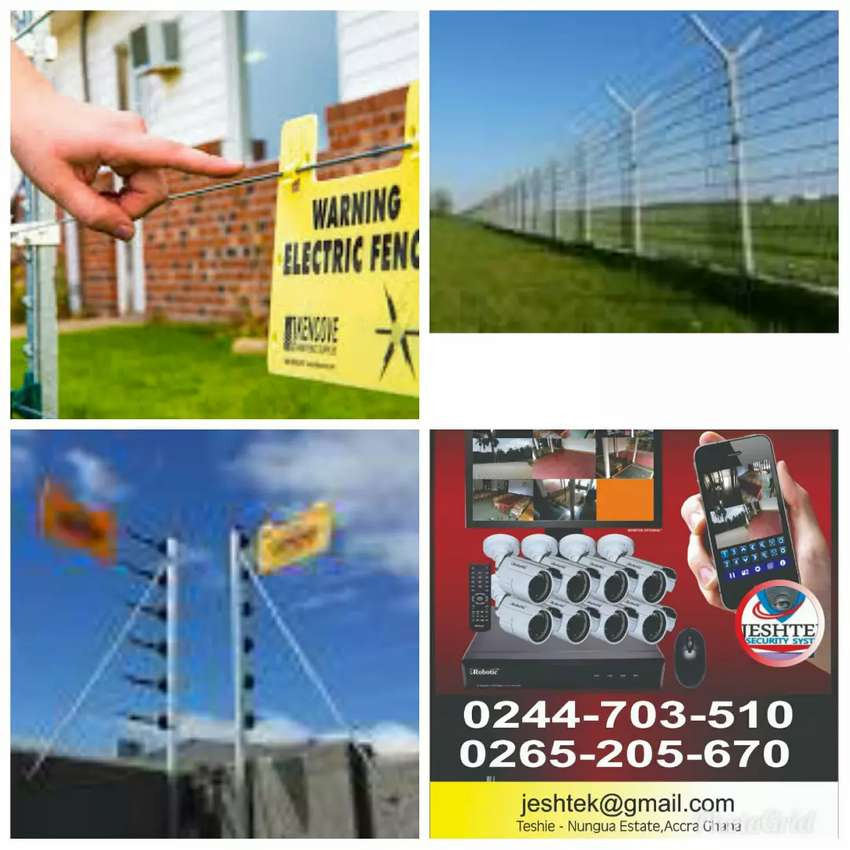 Electric fence and cctv certified installer 0