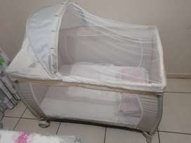 Bounce camping cot
