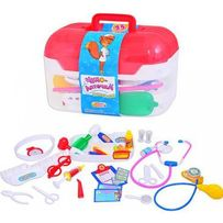 Игровой набор доктора Limo Toy в чемодане М0460 Медицинская аптечк