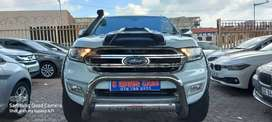 White 2017 Ford Everest XLT 4WD 3.2