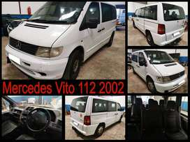 Mercedes Vito 112, 2002 stripping for spares.
