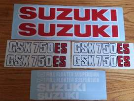 1983 Suzuki GSX 750ES decals stickers graphics set
