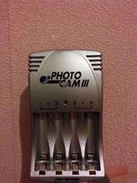 Зарядное устройство для аккумуляторов AA/AAA Ansmann PhotoCam III