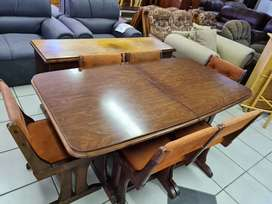 8pce Brown Dining room suite