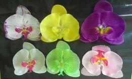 заколки девочкам орхидея - фаленопсис