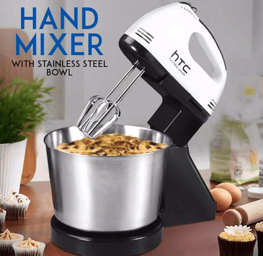 Hand mixer with bowl 0