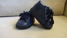 NOWE skórzane butki buty dziecięce Falcotto granatowe