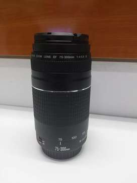 75-300mm canon zoom lens