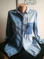 Koszula tunika uni jeans